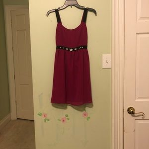 Magenta Cocktail Dress | Size S